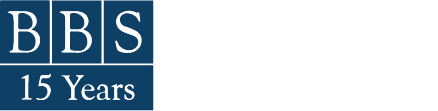 BBS 15 Year Logo